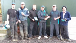 Top 5 Anglers. Chris, Mark, Anthony, Dan and Malc.